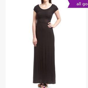 Rolla coster Black Cutout Maxi Dress sz S